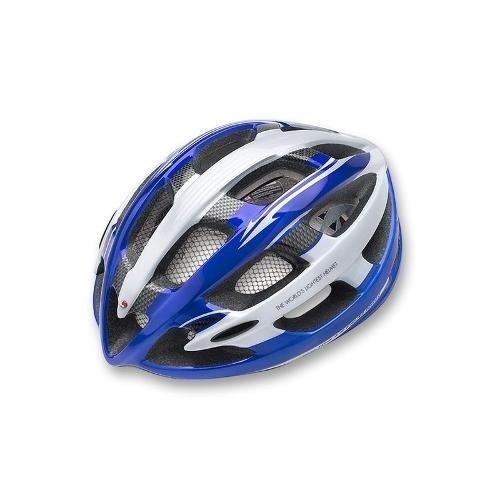 Ultralight road bike helm blau grösse m