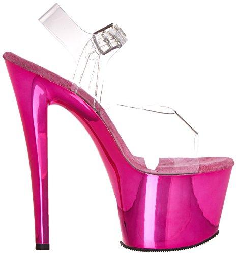 Sandales Transparent Sky308 Pleaser Femme Hpch C Clear nPRwx7Zqw