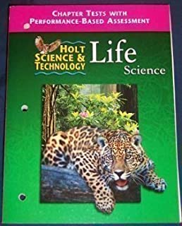 Printables Holt Science And Technology Worksheets holt science and technology 2001 life directed reading chapter tests with assessment