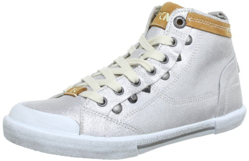 Y25058 silber Boogie Yellow Donna silver Sneaker Cab Argento 6wxFSEq