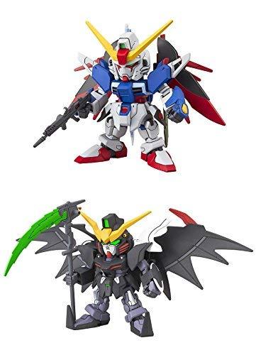 代引き手数料無料 2 Action Bandai EW SD EX-Standard Gundam Action Figure Assembly 2 Models - Deathscythe Hell EW and Destiny Gundams (Japan Import) [並行輸入品] B07R4RS8LL, 頴田町:7bd10185 --- calloffice.com.tr