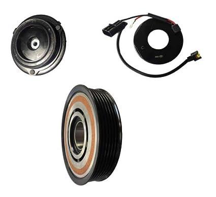 Amazon.com: 2011 Kia Sportage 2.4L HCC-DVE16 AC A/C Compressor Clutch Kit (PULLEY, BEARING, COIL, PLATE): Automotive
