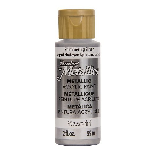 DecoArt Dazzling Metallics 2 Ounce Shimmering