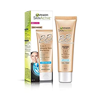 Garnier SkinActive BB Cream Oil-Free Face Moisturizer, Light/Medium, 2 fl. oz.