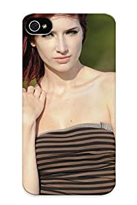 Women Susan Coffey Redheads Models Outdoors Feeling Iphone 4/4s On Your Style Birthday Gift Cover Case