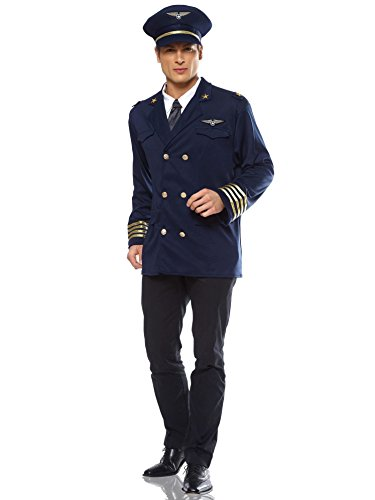 Pilot Adult Costume - X-Large