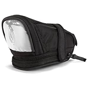 Timbuk2 Lightbrite Bicycle Seat Pack, Black with White Reflective, Medium