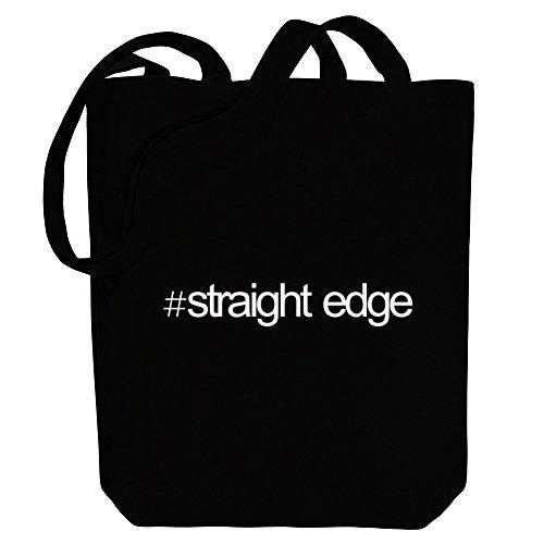 Canvas Edge Music Straight Idakoos Hashtag Hashtag Idakoos Tote Bag T1HBY6