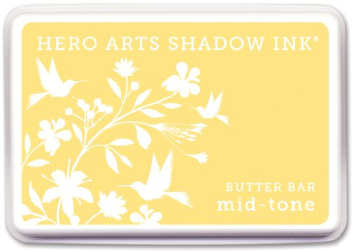 Hero Arts Rubber Stamps Shadow Ink Mid-Tone, Butter Bar