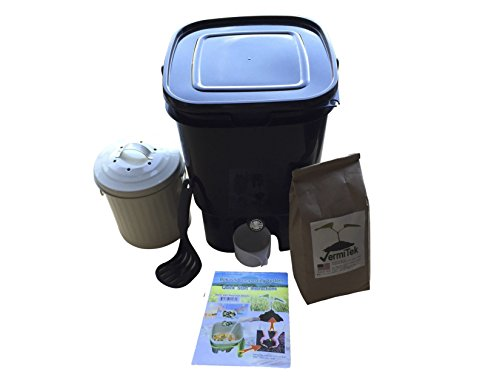 Sunwood-Life-Bokashi-Compost-Kit-Premium-Model-Black-Bucket