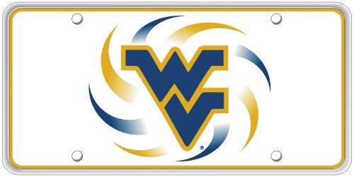 Collegiate Series WVU Pinwheel License Plate