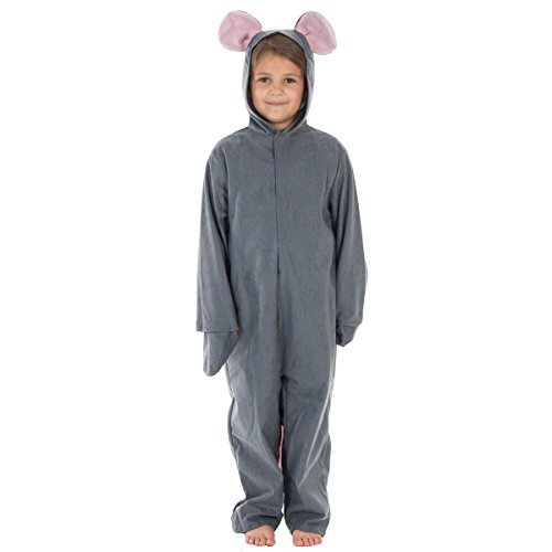 Grey Mouse Costume for Kids 3-5