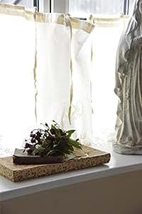 Juana D'Arc Living * Visillo cortina, Bistro/cortinas, alimento, Shabby Chic, French Nordic, 140 x 50