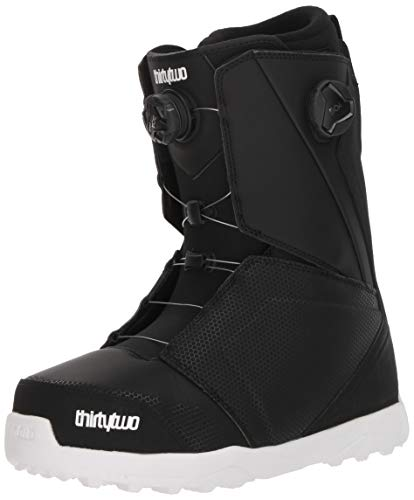 ThirtyTwo Lashed Double Boa '18 Snowboard Boots, Size 11, Black