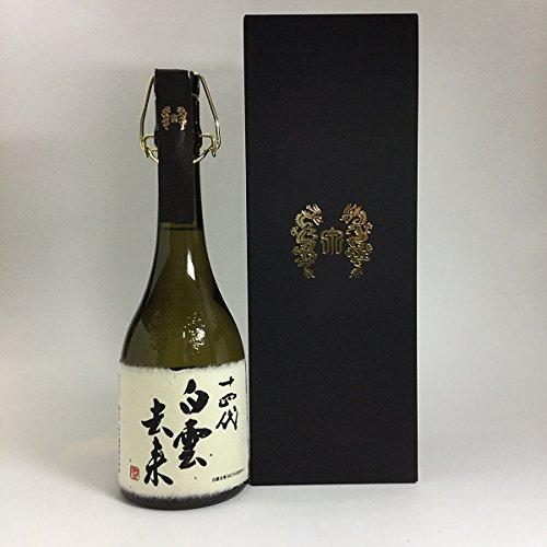 十四代 白雲去来 純米大吟醸 720ml(2016年7月出荷分)高木酒造 創業400年記念酒