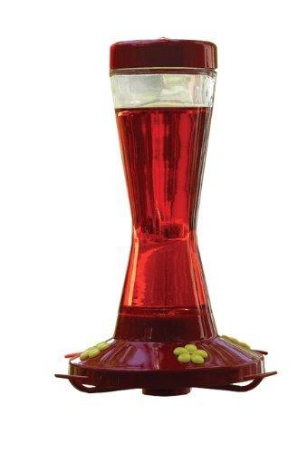 Perky Pet 210PB 16 Oz Clear Glass Hummingbird ()