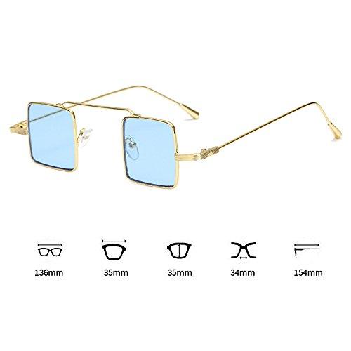 para Hombre cuadrada mujer aire Juleya libre al C3 con Sombras de y sol resina Gafas montura metal HqB0zxw