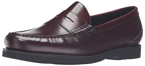 Rockport Hombres Modern Prep Penny Loafer Borgoña
