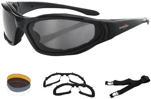 Zan Headgear Raptor II Interchangeable Men's Bobster Sunglasses - Black