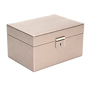 WOLF 213178 Palermo Small Jewelry Box, Pewter