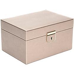 WOLF 213178 Palermo Small Jewelry Box, Pewter