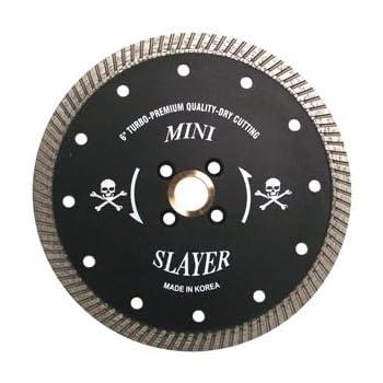5 1//4 Inch Granite Mini-Slayer Premium Turbo Diamond Blade
