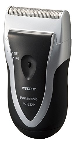 Panasonic Men's Shaver for Traveler ES3832P-S Silver | DC3V (2 x AA Alkaline) (Japan ()