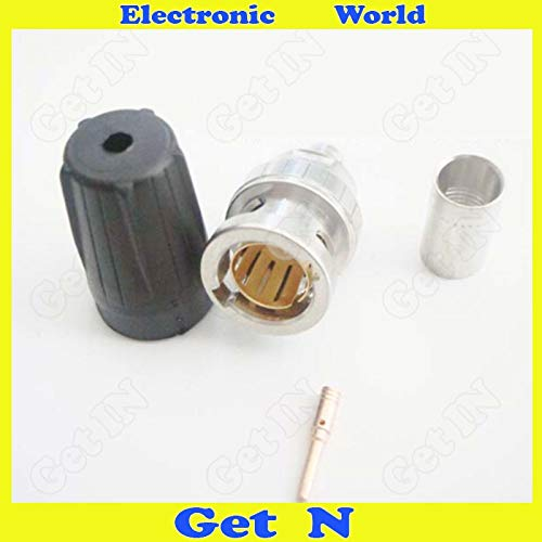 Gimax 5pcs NBNC75BLP7 Crimp Canare LV-61S Cable