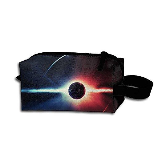 Ying Yang Eclipse Portable Printed Travel Make Up Bag Storage Bag Capacity Portable Bags For Travel