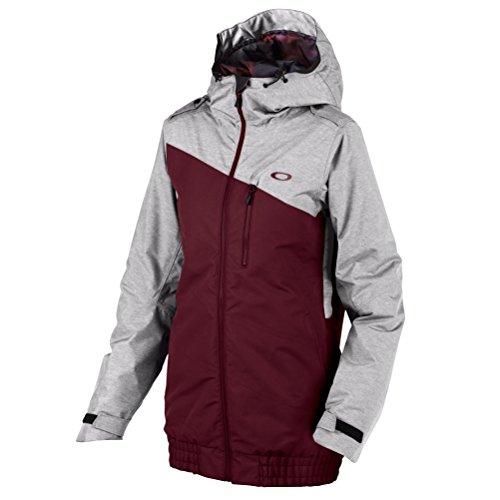 Oakley Women's Quebec Insulated Jacket, Aubergine, - Ski Jacket Womens Oakley