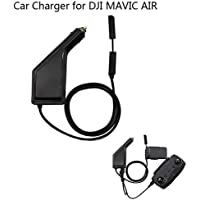 Joint Victory Battery Car Charger Adapter Remote Controller USB Charging Hub With Safety Cover for DJI MAVIC AIR Drone (2 in 1)