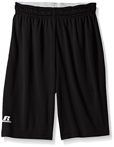 - Russell Athletic Boys Dri-Power Performance Short with Pockets, Black M