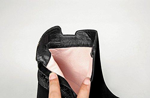 hexiajia - Sandalias de Vestir Mujer negro