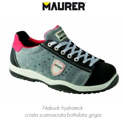 chaussures de tennis de faible travail de prevention des accidents S1P Maurer n
