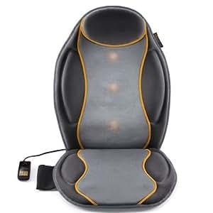 Medisana 88936 - Respaldo de masaje intenso de alta definición, color negro y gris