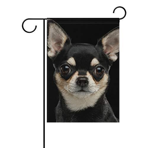 ALAZA Chihuahua Dog Decorative House Flag 28 x 40 inch Double Sided Yard Flag
