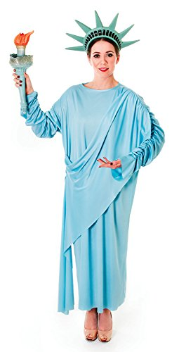 Bristol Novelty AC389 Statue of Liberty Costume, Size 10-14 -