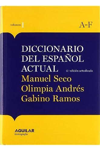 Nueva Edición Diccionario Español Actual 2011 /Obra 2 Tomos