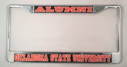 Oklahoma State University Alumni License Plate Frame