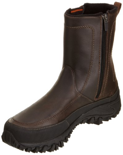 Merrell Men's Shiver Boot Waterproof Insulated Winter Boot,Dark Earth,13 M US
