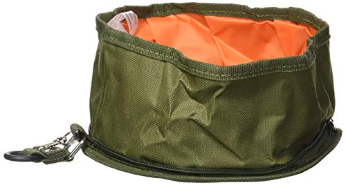 (Jardin Dog Pet Collapsible Fabric Travel Food Water Bowl )