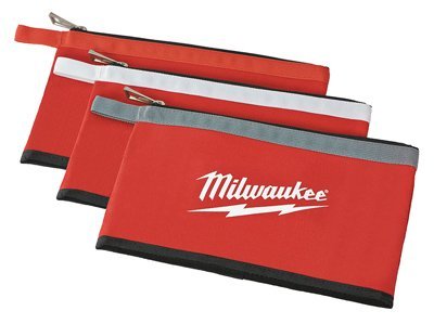 Milwaukee 48-22-8193 Zipper Pouches (3 Pack)