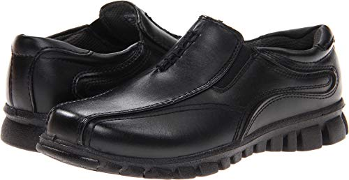 Deer Stags Stadium Slip-On (Little Kid/Big Kid),Black,5.5 M US Big Kid