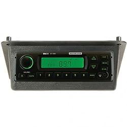 Radio Kit AM/FM/WB/AUX Stereo Black John Deere 405