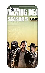 Durable Case For The Iphone 5/5s- Eco-friendly Retail Packaging(the Walking Dead )