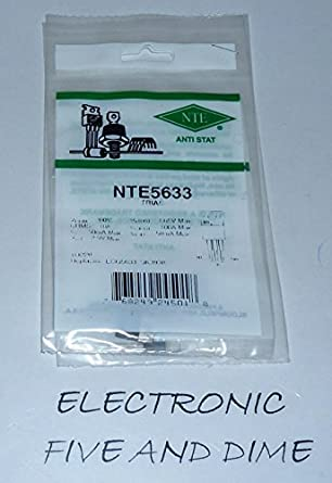 TO-220 Package NTE Electronics NTE5633 Triac 10 Amp 200V