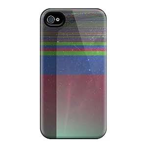 LpO557YRGq Star Glitches Fashion Tpu 4/4s Case Cover For Iphone