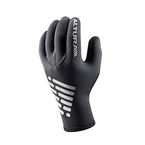 Altura Men's Thermastretch Neoprene Cycling Gloves X-Large Black