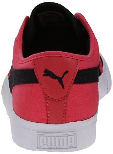 Uomo Sneaker Alta Qualità Cotone Ripstop Nero / Teaberry Rosso / Brezza Capri