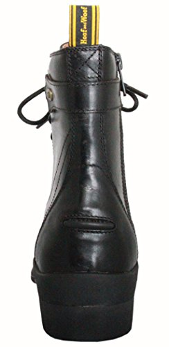Side Hoof Lace Woof Zip Black amp; Paddock Boot q88OBTtw